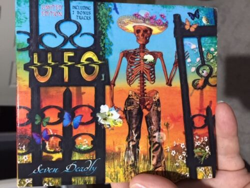 UFO Seven DeadlyLimited Edition CD digipak, 2012 EXCELLENT CONDITION