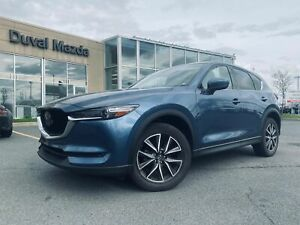 2018 Mazda CX-5 GT/CUIR/TECHNOLOGIE PACKAGE/TOIT/CAMÉRA/CRUISE/BLUETOOTH/SIÈGES MÉMOIRES/DÉTECTION DES ANGLES MORTS