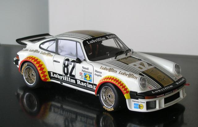 PORSCHE 911 934 RSR Le Mans 1979  82 Lubrifilm Class Win Müller Vanol Exoto 1 18