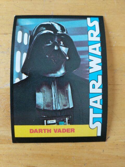 NM CLEAN WHITE 1977 Star Wars Wonder Bread Topps Darth Vader 5 PSA ?