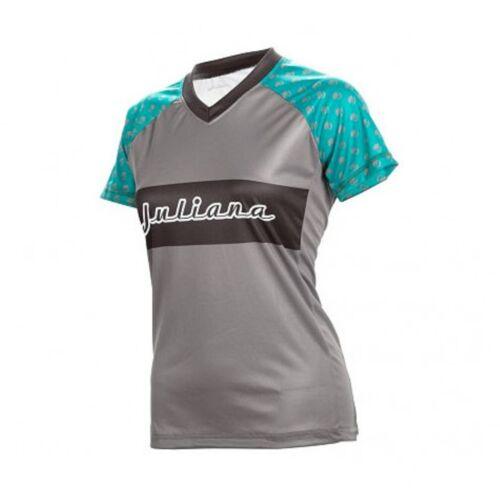 Genuine Juliana Trail jersey femme manches courtes Evergreen//Gris Nouveau