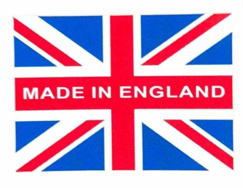 Union Jack with made in England