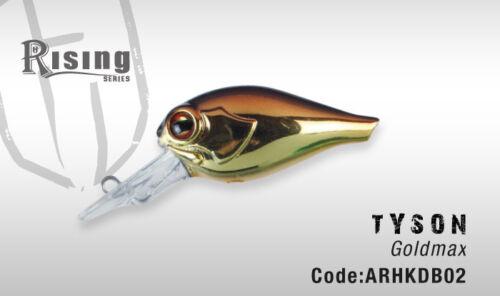 Italien conçu Héraclès COLMIC FLOTTANTE UL LRF Crankbait Tyson 4 cm 5 g