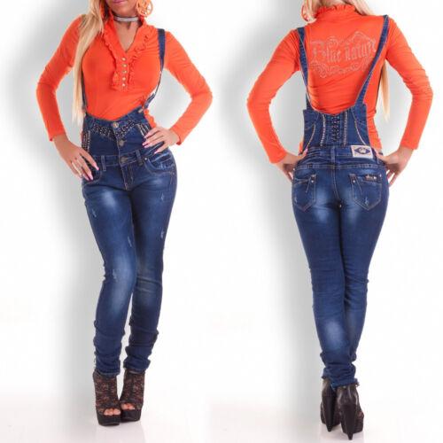 JEANS Donna Jeans Donna Pantaloni Pantaloni patta Jeans Pantaloni hüftjeans BLUE XS S M L XL #315