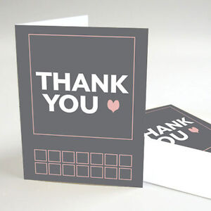 Details About 24 Times Square Personalized Wedding Thank You Notes