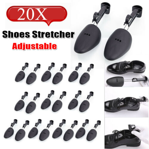 10 Pairs Men Two-Ways Shoe Tree Stretcher Shaper Keeper Adjustable Size 5.5-11.5