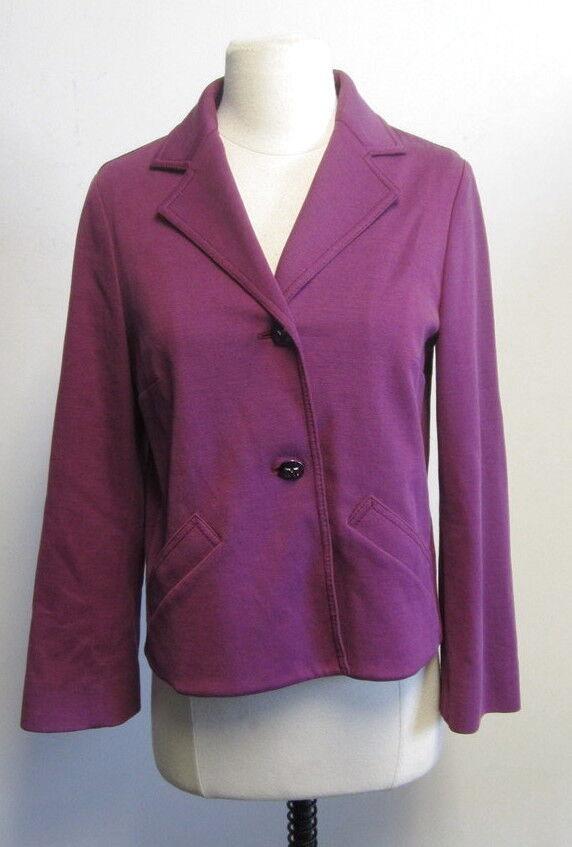 MISSONI Women's Purple Blazer size 42 6 CUTE