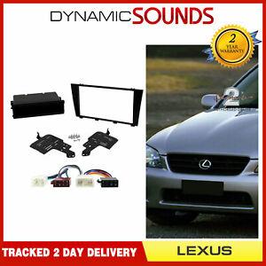 CTKLX01-ISO-Simple-Double-Din-Carenage-Cablage-Fixation-Kit-pour-Lexus-IS300