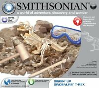 Smithsonian Diggin` Up Dinosaurs T-rex , New, Free Shipping on sale