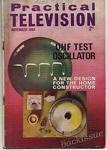 Practical-Television-Magazine-November-1965-For-FULL-Contents-see-Listing-Images