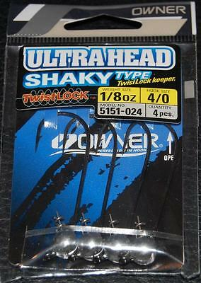 Owner Shaky Type Jig Head Natural 5151 Pick