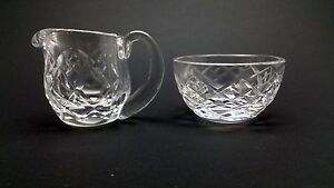 Waterford-Crystal-Mini-Creamer-And-Open-Sugar-Bowl
