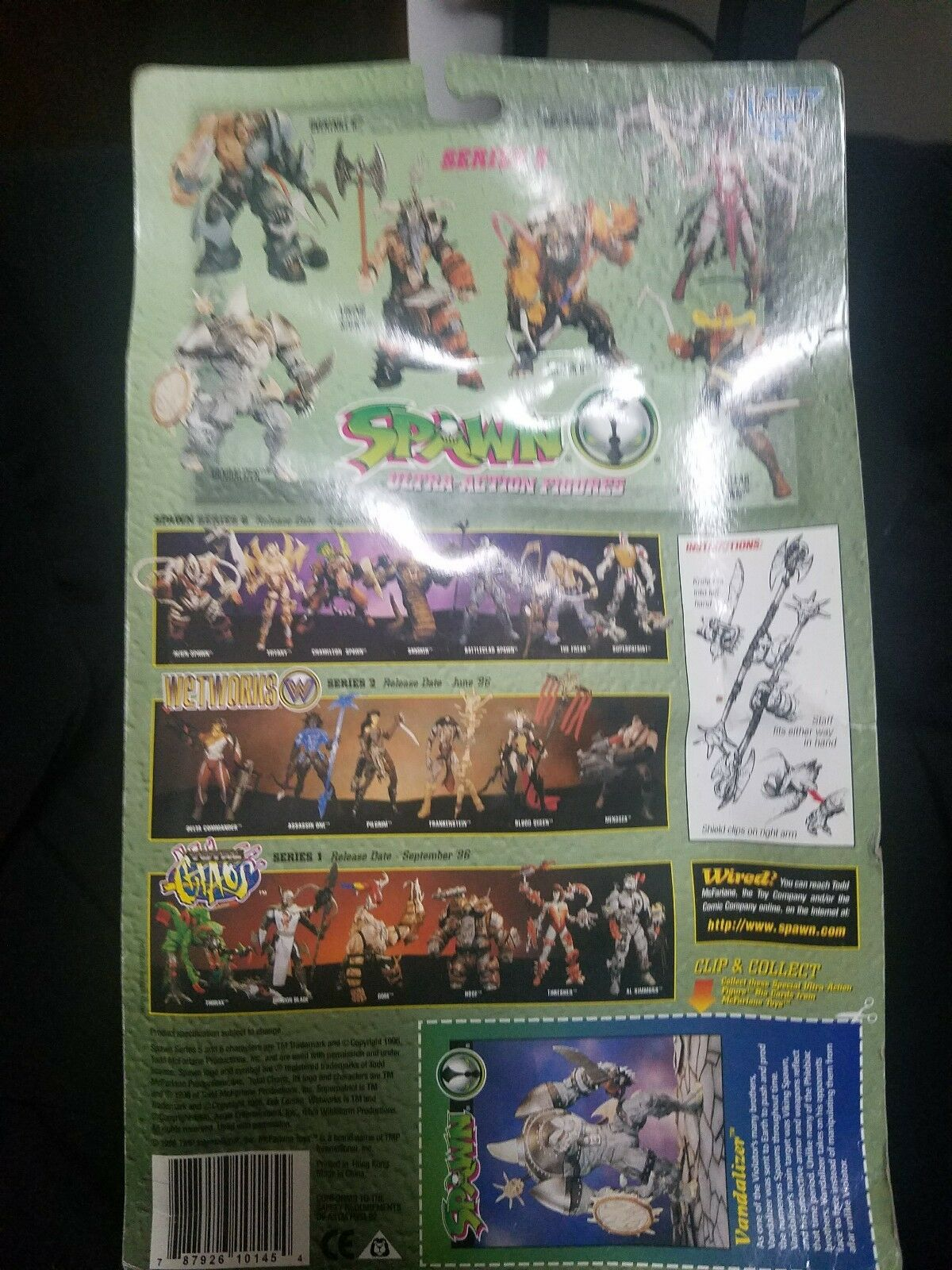 Spawn Spawn Spawn The Vandalizer Action Figure New bd9b9a