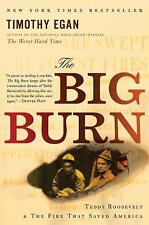 The Big Burn : Teddy Roosevelt and the Fire That Saved America by Jeanette Ingold and Timothy Egan (2010, Paperback)