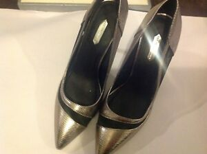 7 Shoes Perkins Heeled High Uk Ladies Silver Dorothy Size aT68y8qpA