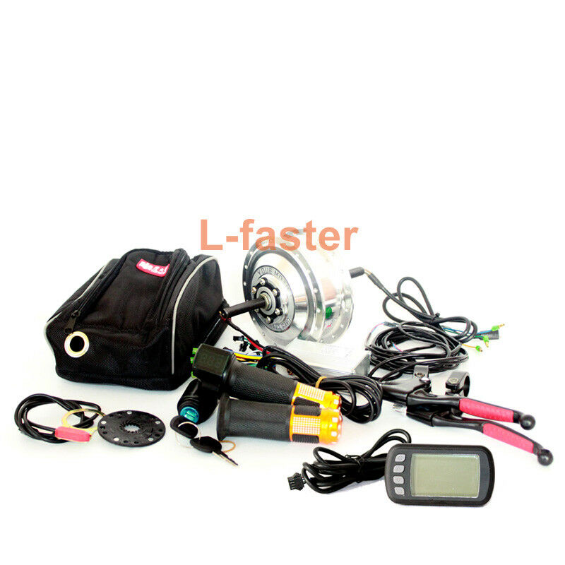 36V48V 250W Electric Bike Conversion Kit With LCD display Electric Bicycle Rear