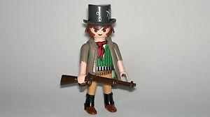 Playmobil-Western-West-Cowboy-Pistolero-Bandito-con-Accessori-Figura-Custom