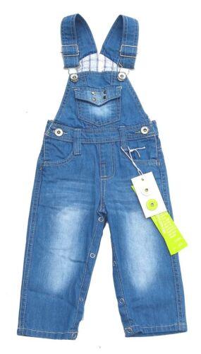 tolle Jungen Jeans Latzhose  in blau  Größe 80   *NEU* J116a
