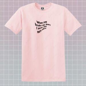 Image Is Loading Heart Alive T Shirt Broken Feelings Break Up
