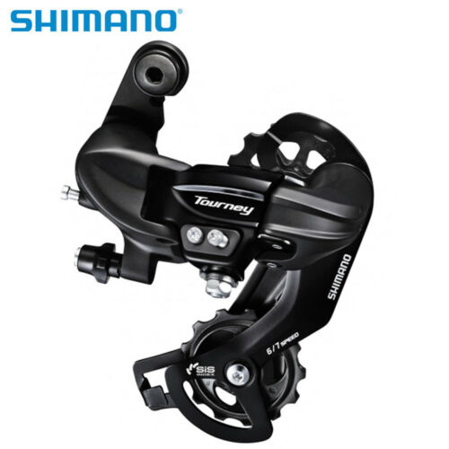 Shimano Tourney RD-TY300 6//7 Speed Bike Rear Derailleur Bracket NEW Black