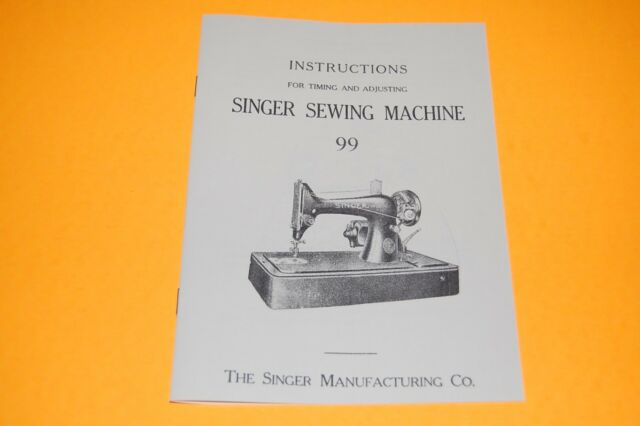 Timing Adjusting Adjusters Manual To Service SINGER Class 40 Interesting The Singer Manufacturing Co Sewing Machine Ebay