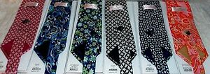 Vera Bradley Neck Tie Classic Women's Men's Necktie Paisley Geometric100% Silk
