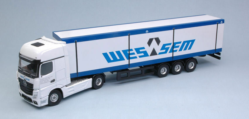 Mercedes Actros MP4 'WESSEM' Camion Truck 1 50 Model HOLLAND OTO