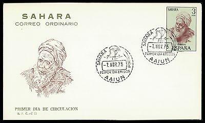 Spanien & Kolonien Motive FäHig Sahara Fdc 1975 Trachten Beduine Costumes Cf96 Up-To-Date-Styling