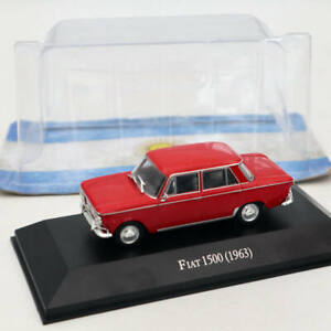 IXO-ALTAYA-FIAT-1500-1963-Red-Diecast-Models-Limited-Edition-Collection-1-43
