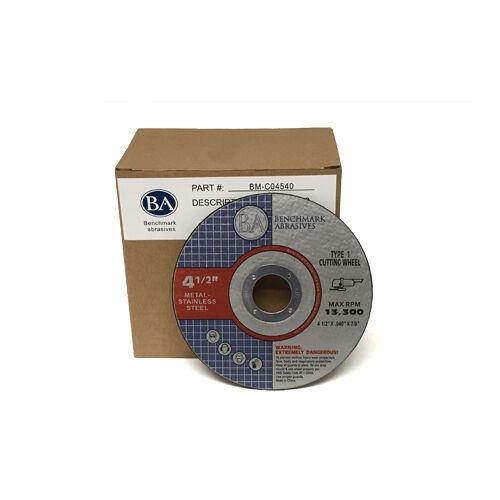 """25 Pack 4.5/""""x.045x7//8/"""" Pro Metal Steel Cutting Cutoff Wheel"""