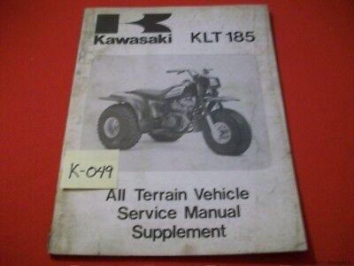 Kawasaki klt 185 service manual free