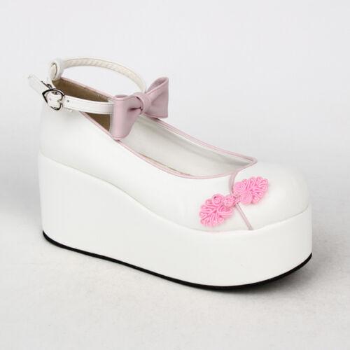 Gothic Sweet Lolita China Doll Chinese knot Elegant Schuhe Shoes Cosplay Kostüm