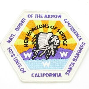 1973-Boy-Scout-National-OA-Conf-NOAC-Patch-WWW-Univ-of-California-Santa-Barbara