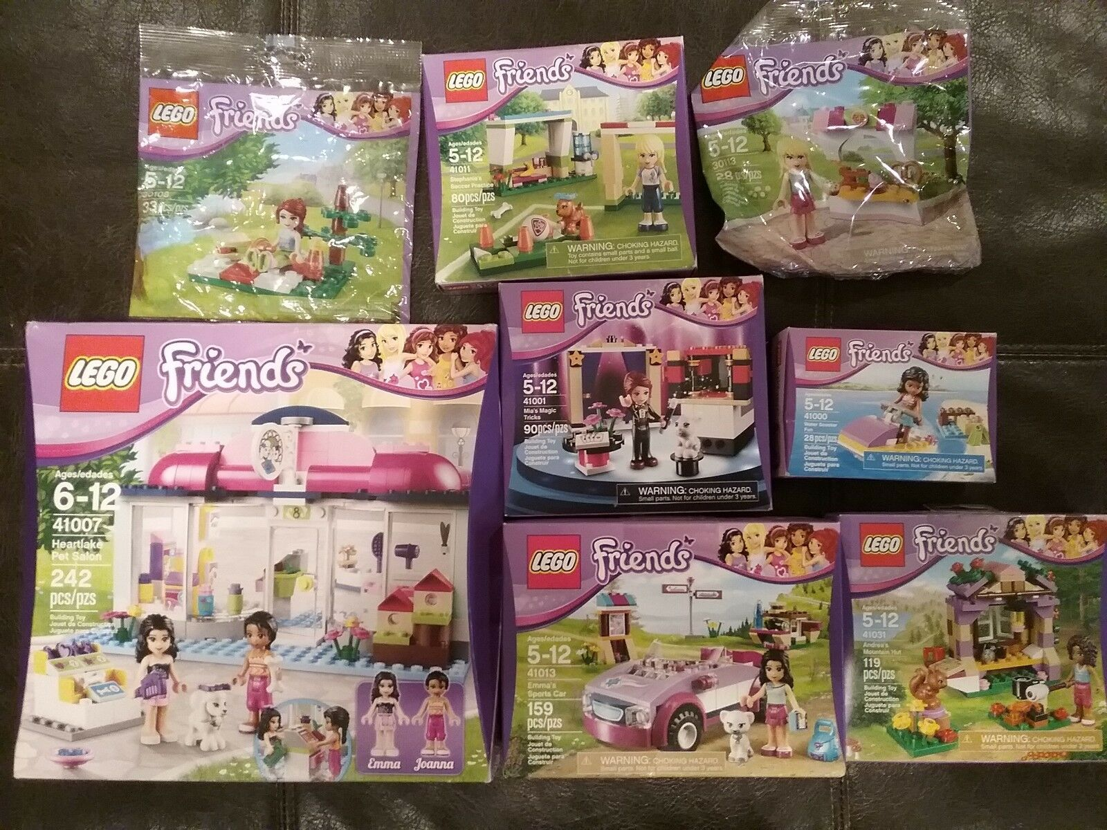LEGO FRIENDS SETS 41007,  41011, 41031, 41000, 41001 41013, 30108, 30113 NEW
