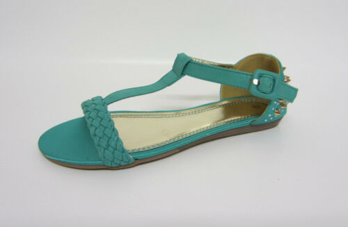 R22G Spot On Ladies Sandals F0R605 Nude Beige or Turquoise Blue