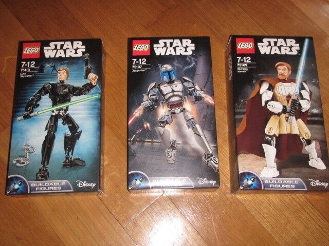 LEGO STAR WARS BUILDABLE FIGURES various  available NEW NUOVO sealed
