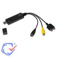 USB 2.0 Video GRABBER Digitalisierer PC Computer Laptop Videograbber