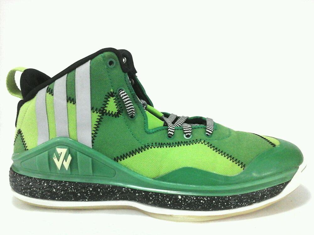 Adidas Wall 1 Bad Dream Basketball Sneaker Multi Green Neon Hip homme US 8 UK 7.5