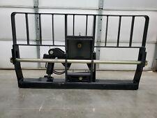Jlg Gradall Telehandler Tilt Carriage 10000 Lb 2 Shaft 66 Width New