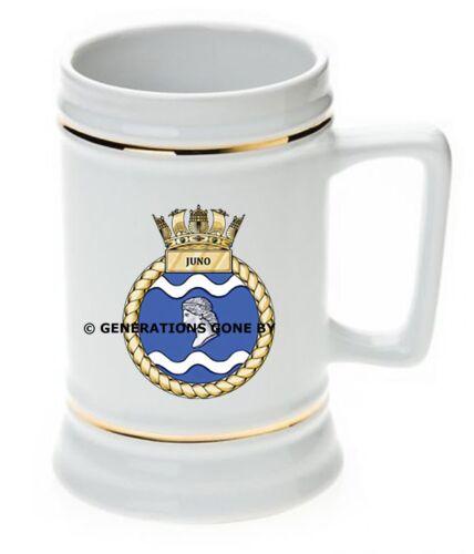 HMS JUNO BEER STEIN