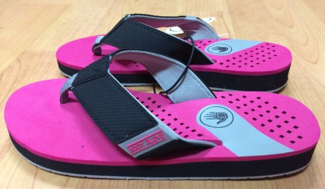 44741068be2b Body Glove Sandbar Women s Flip Flops Sandals Size 9 Surf Beach Ocean Hot  Pink