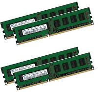 4x 4GB 16GB Samsung PC Desktop RAM Speicher DIMM DDR3 1333 Mhz PC3-10600U 240pin
