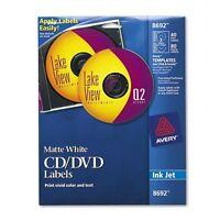 Avery Cd & Dvd Labels - 8692