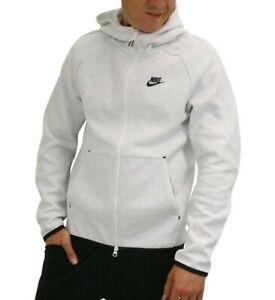 Dettagli su Nike Tech Fleece Windrunner Uomo Felpa Con Cappuccio Taglia M L XL Birch Heather mostra il titolo originale