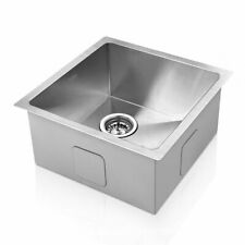 Cefito Kitchen Sink Handmade Stainless Steel Under/Topmount Laundry 510x450mm
