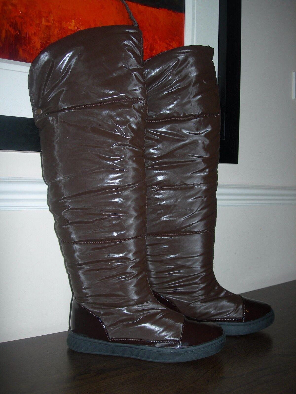 STEPHAN WOMEN'S BOOTS PUFFY TALL OVER-KNEE HIGH WINTER BOOTS EU 38 / UK 5 SLIM