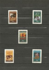 AUSTRALIA-1995-The-100th-Anniversary-of-the-Cinema-NICE-USED-COMPLETE-SET