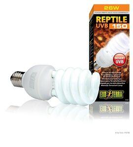 Exo Terra Reptile UVB 150 , former Repti Glo 10.0 compact , 26 watt , pt-2189
