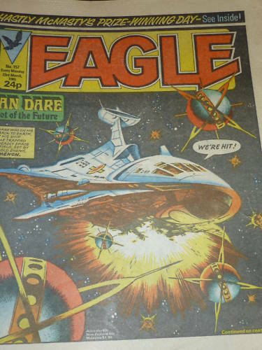 No 157 EAGLE Comic Date 23//03//1985 UK Paper Comic