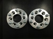 "2X 1"" Hubcentric Wheel Spacers ¦ 6x5 6x127 | Chevy Envoy Trailblazer SSR 25mm"